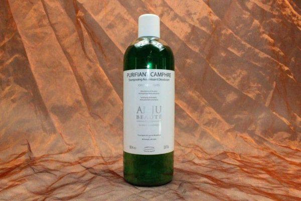 Anju Beauté Purifiant Camphre Shampoo 1000 ml 1 600x400 - Anju-Beauté, Purifiant Camphre Shampoo, 1000 ml