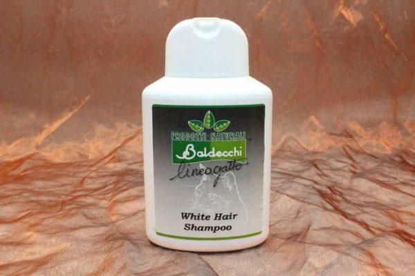 Baldecchi White Hair Shampoo Cat 250 ml 2 600x400 - Baldecchi, White Hair Shampoo (Cat), 250 ml