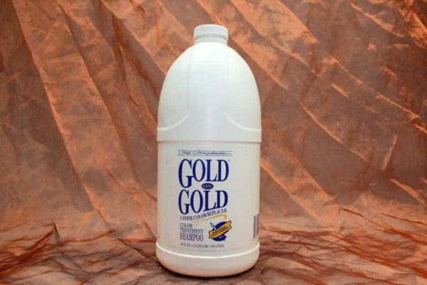 Chris Christensen Gold On Gold Shampoo 1900 ml 2 600x400 - Chris Christensen, Gold On Gold Shampoo, 1900 ml