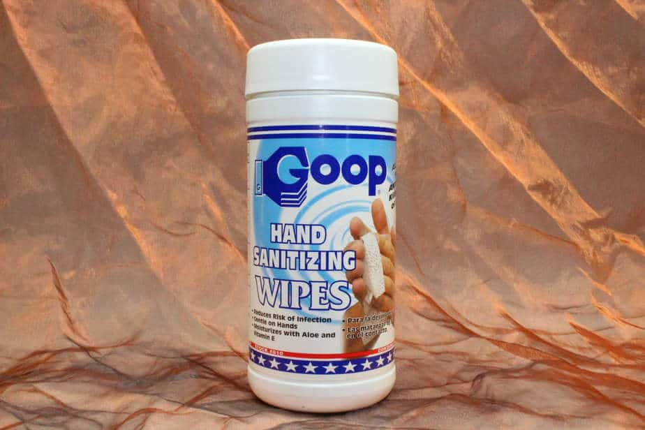 Groomers-Goop Sanitizer Wipes,40 Pcs.