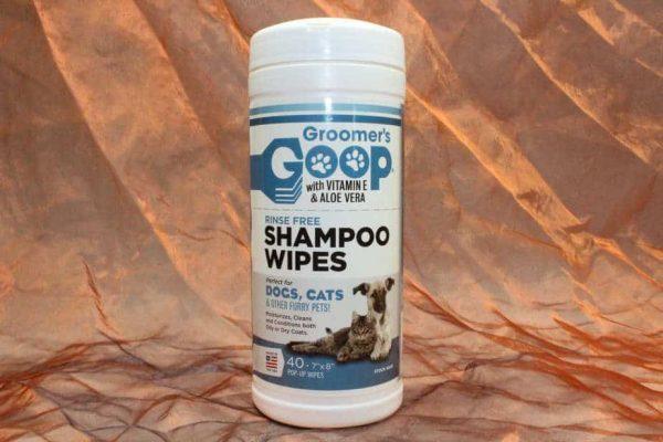 Groomers Goop Shampoo Wipes 40 Pcs. 2 600x400 - Groomers-Goop Shampoo Wipes, 40 Pcs.