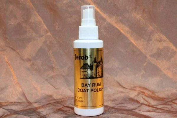 Jerob Bay Rum Coat Polish 118 ml 2 600x400 - Jerob, Bay Rum Coat Polish, 118 ml