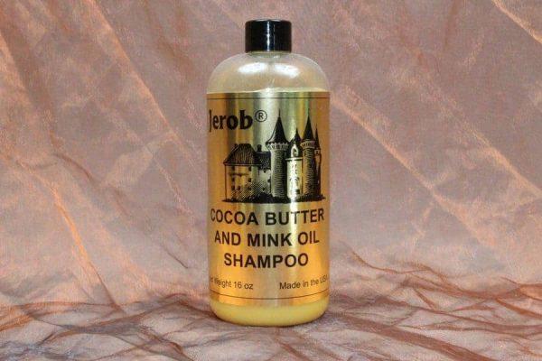 Jerob Cocoa Butter Mink Oil Shampoo 473 ml 1 600x400 - Jerob, Cocoa Butter & Mink Oil Shampoo,473 ml
