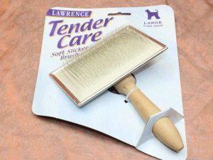 Lawrence Tender Care Slicker Brush Large 1 Pcs. 2 300x225 - Lawrence, Tender Care Slicker Brush Large , 1 Pcs.