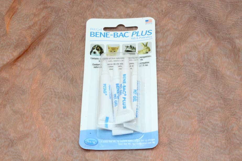 PetAg, Benebac Gel Pack, 4 x 1 gram