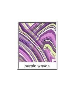 Purple Waves - SturdiBag™ - Large Limited Edition Purple Wave, 170 Gram