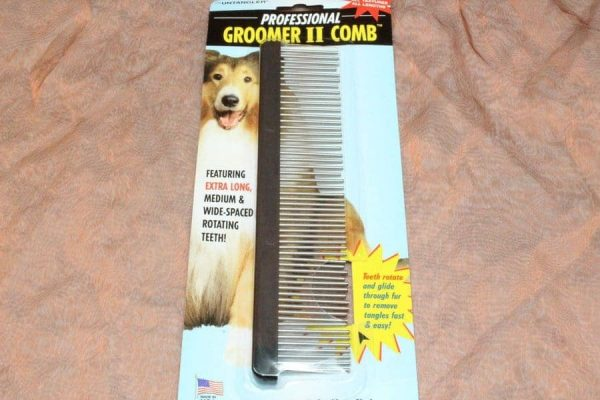 TLC Comb With Rotating Teeth Large