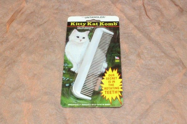 TLC Comb With Rotating Teeth Small 1 Pcs. 1 600x400 - Kam Met Roterende Tanden Klein,1 Pcs.