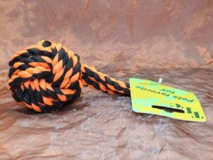 TLC Cotton Tugger Medium 1 Pcs. 2 300x225 - TLC, Cotton Tugger Small,1 Pcs.