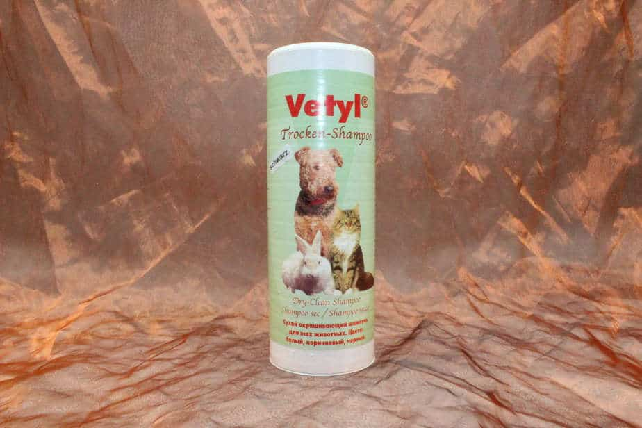 Vetyl, Droogshampoo Zwart, 500 gram