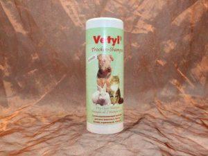 Vetyl Dryshampoo Brown 500 gram 2 300x225 - Vetyl, Droogshampoo Bruin,500 gram