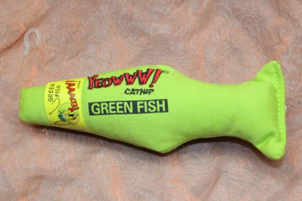 Yeowww Green Fish 1 Pcs. 2 600x400 - Yeowww, Green Fish, 1 Pcs.