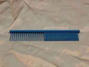 tn_TLC, The Comb, 15 CM Medium Grof - Sparkly Blue