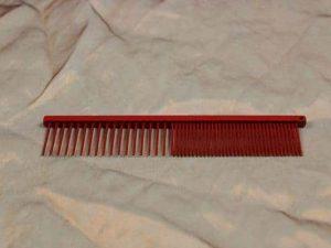 tn_TLC, The Comb, 15 CM Medium Grof - Sparkly Red