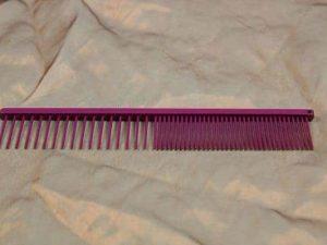 tn_TLC, The Comb, 18 CM Medium Grof - Sparkly Fuchsia