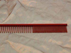 tn_TLC, The Comb, 18 CM Medium Grof - Sparkly Red
