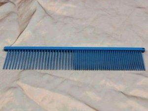 tn_TLC, The Comb, 19 CM Long Pin Medium Grof - Sparkly Blue