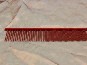 tn_TLC, The Comb, 19 CM Long Pin Medium Grof - Sparkly Red